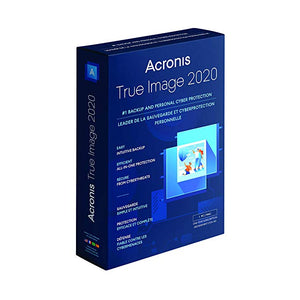 Acronis True Image 2020 on DVD - Free Postage Worldwide - only £89