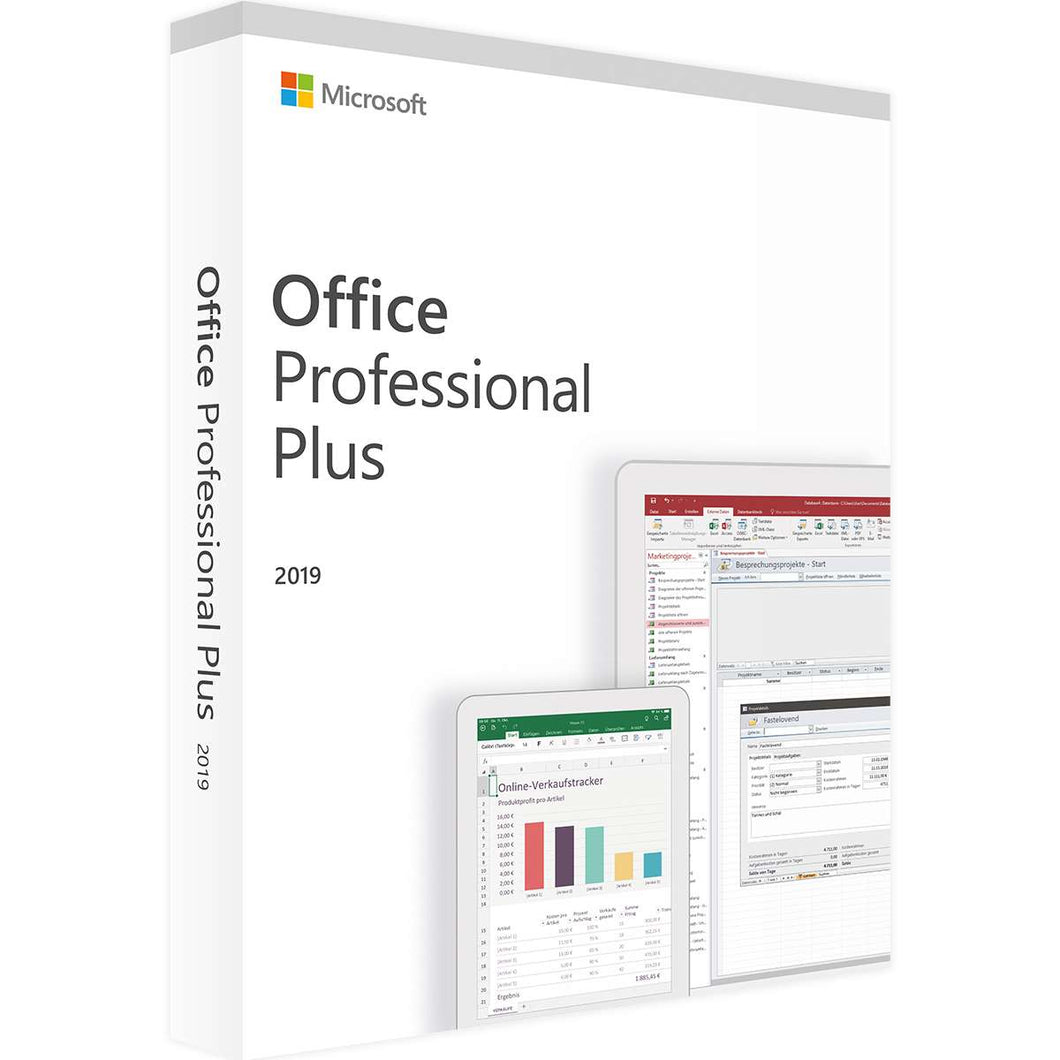Microsoft Office Professional Plus 2019 - DVD with Free Postage Worldwide - only £145