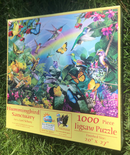 Hummingbird Sanctuary puzzle