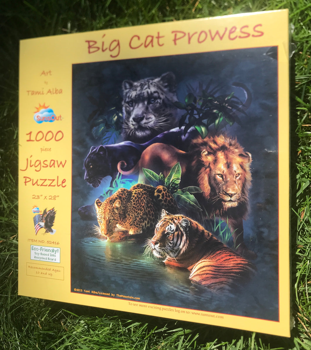 Big Cat Prowess puzzle