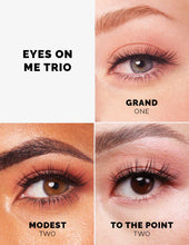 Load image into Gallery viewer, The Eyes On Me Lash Trio