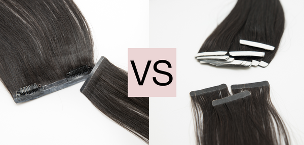 Clip in extensions vs tape in extensions – The glamorous battle