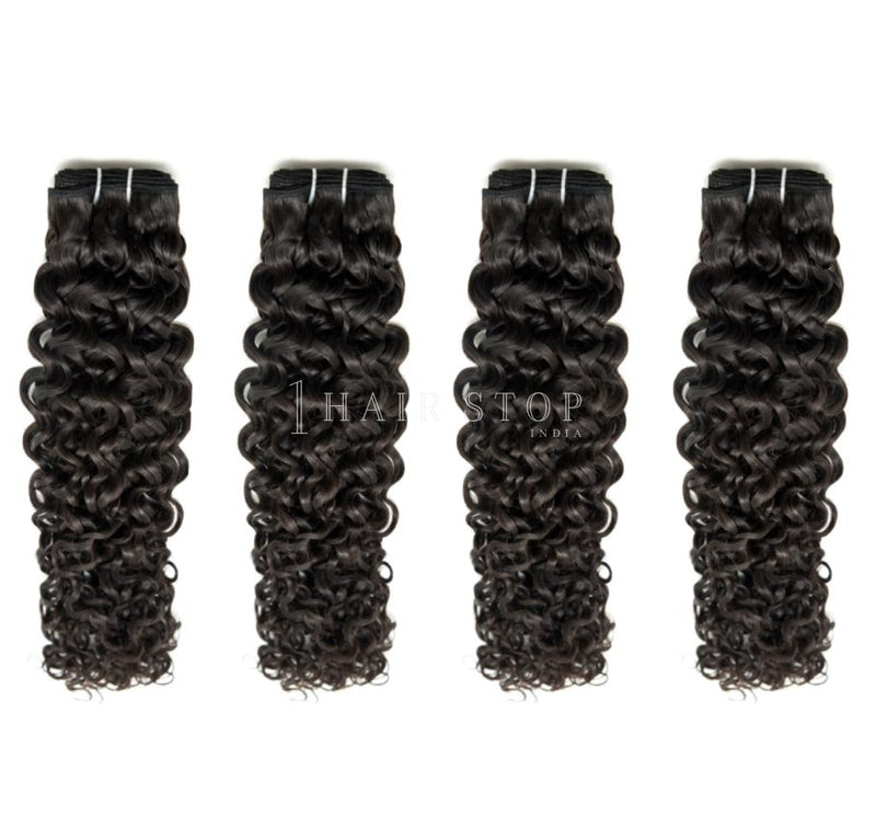 Mink Brazilian Curly Hair 4 Bundle Deal