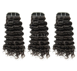 Mink Brazilian Deep Wave Hair 3 Bundle Deal