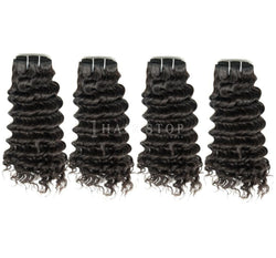 Mink Brazilian Deep Wave Hair 4 Bundle Deal