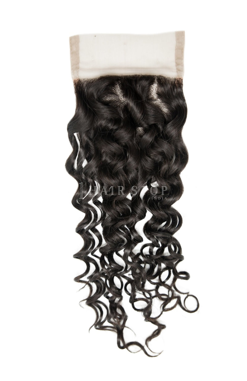 Curly Hair closure with bundles