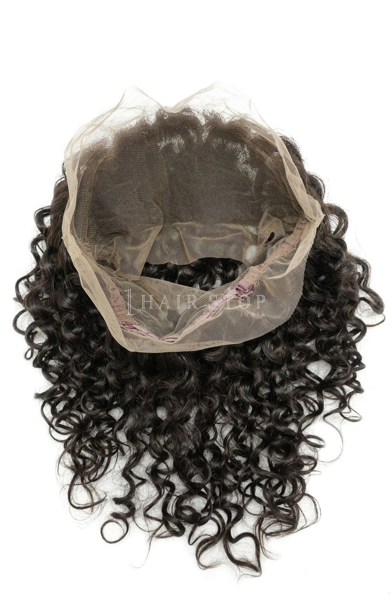 Curly Hair 360 Swiss Lace Frontals