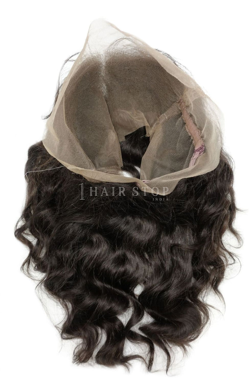 Loose wave 360 frontal with bundles