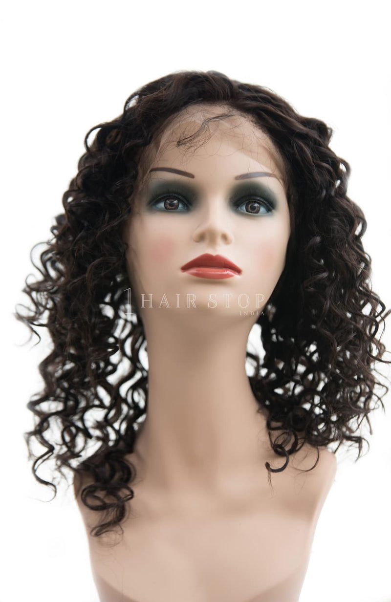 Loose curl 360 frontal
