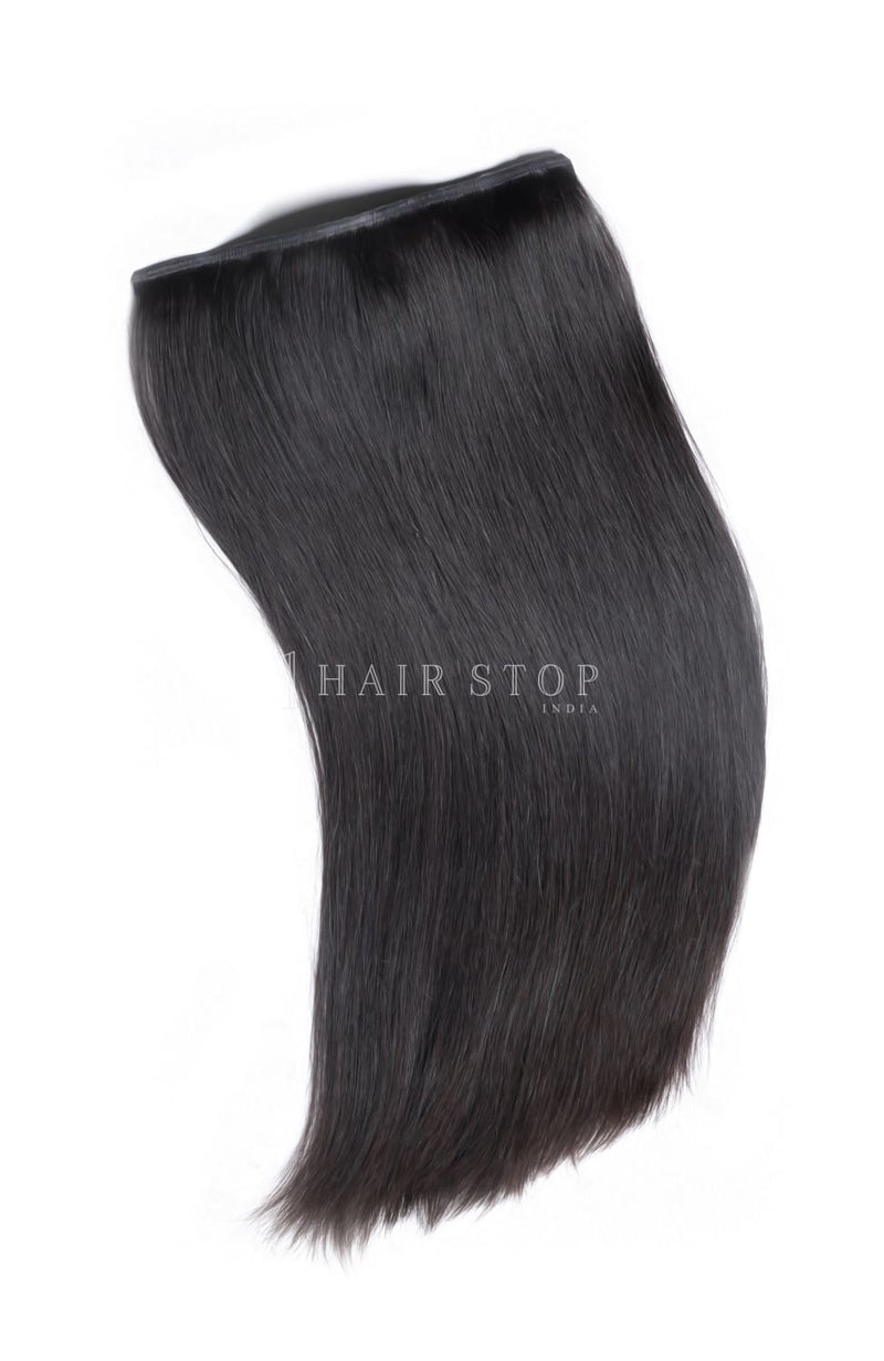 Invisi Clip-In Extensions Straight Black #1B Clip-In