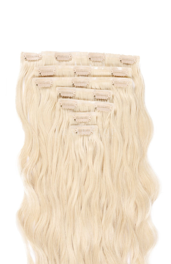 613 Blonde Clip in Extensions