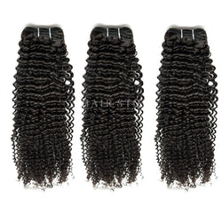 Mink Brazilian Jerry Curl Hair 3 Bundle Deal