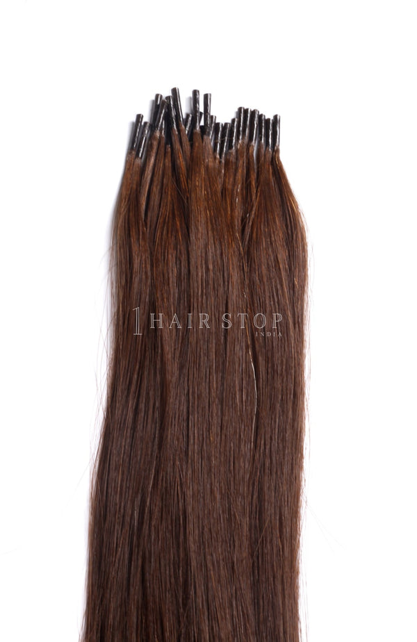 Keratin Extensions Straight Brown #4