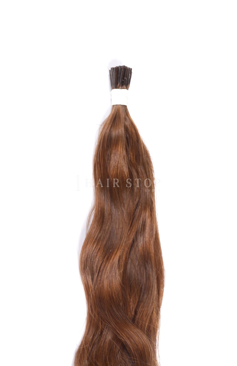 Brown Keratin Extensions