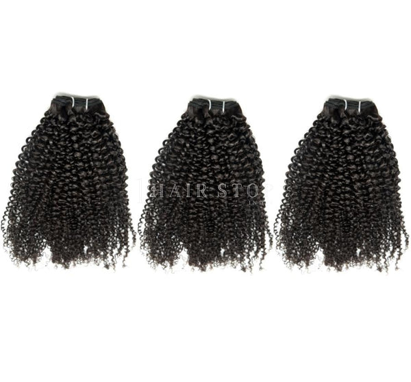 Mink Brazilian Kinky Curl Hair 3 Bundle Deal
