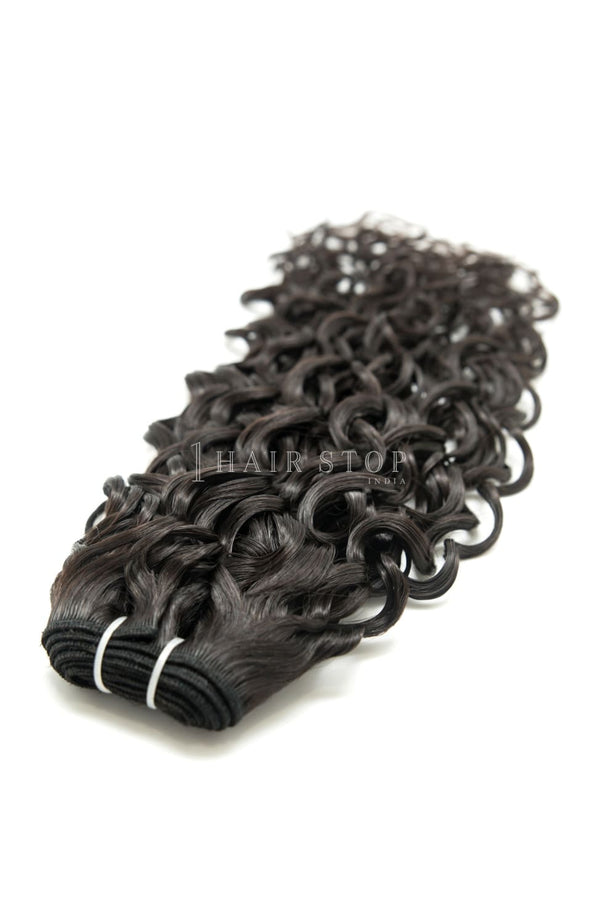 Loose Wave Machine Weft Hair Bundles