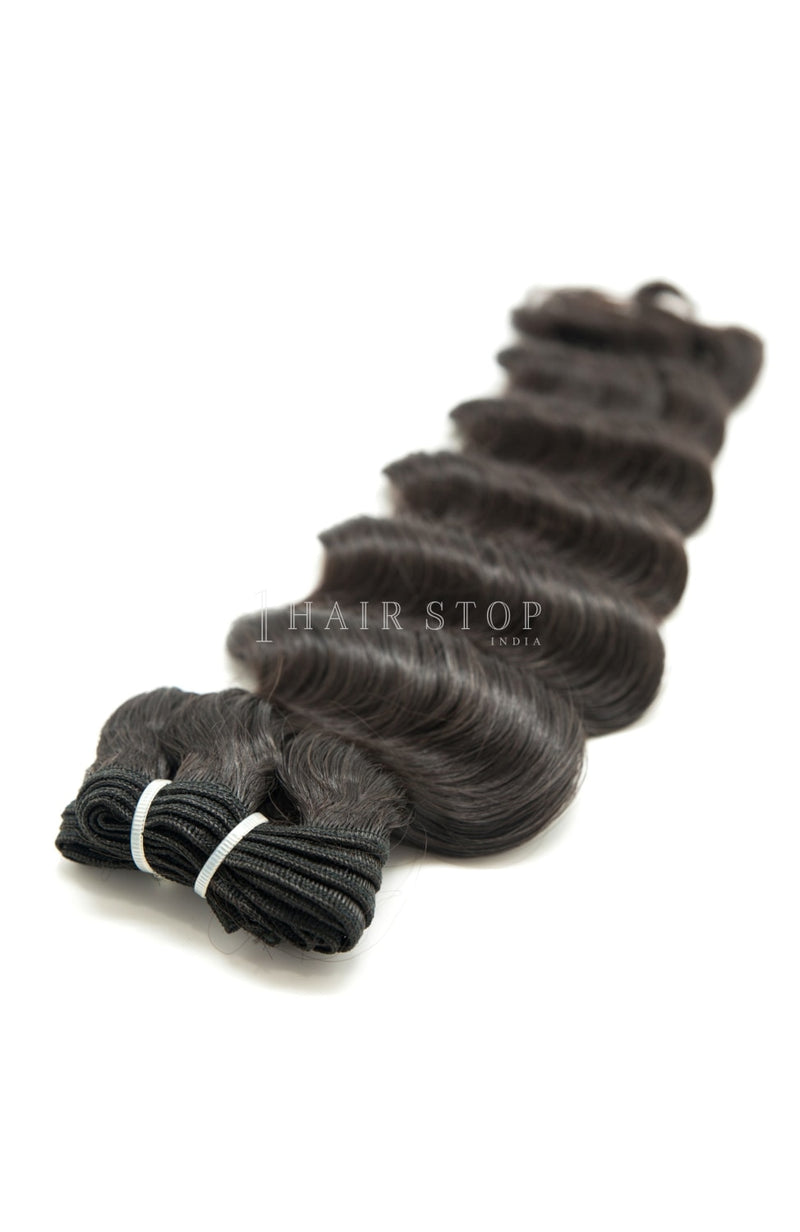 Mink Brazilian Loose Wave Virgin Hair 3 Bundles With Lace Closure