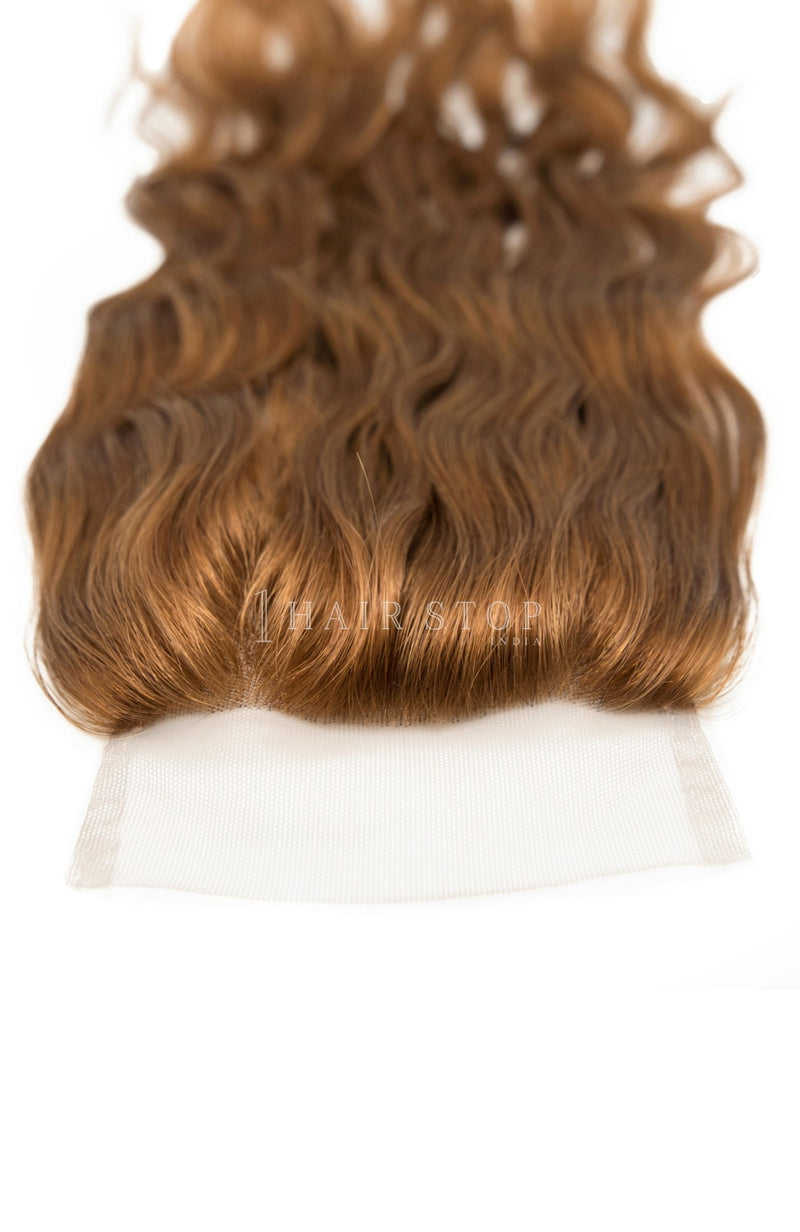 Lace Closures Wavy - Brown