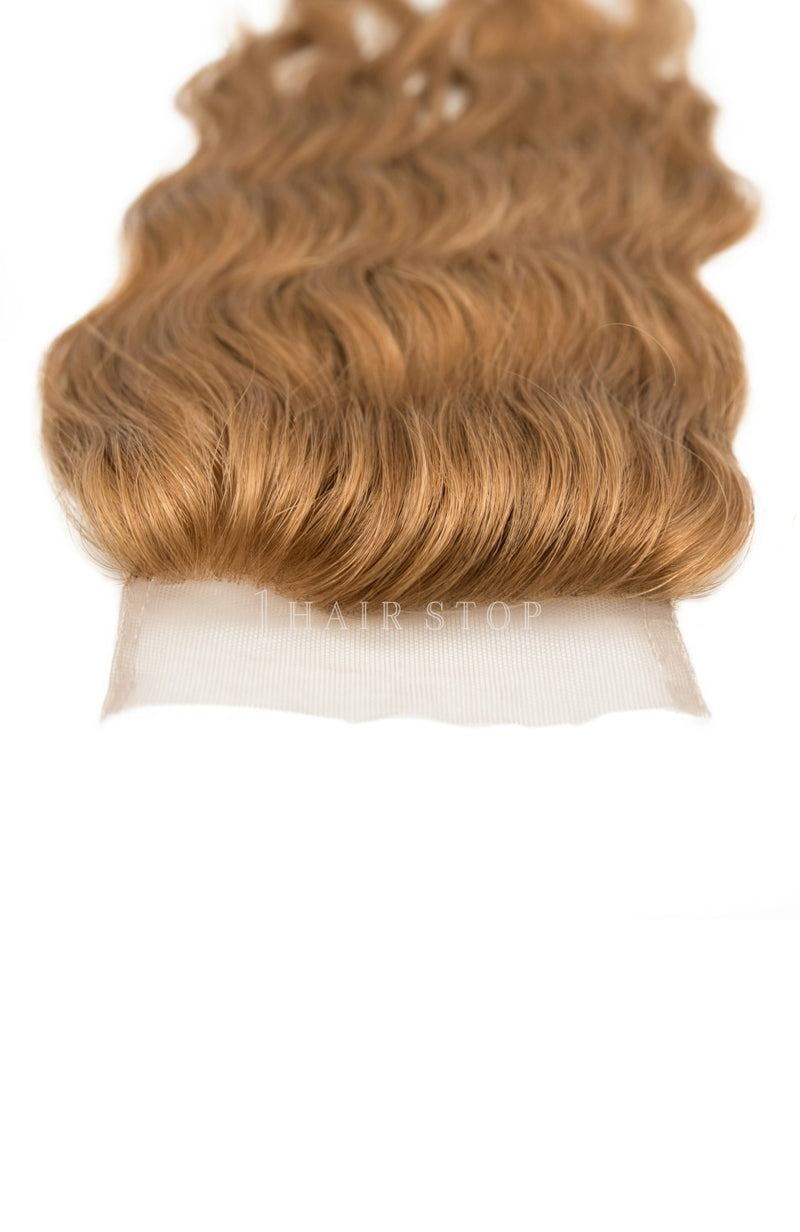 Light Brown Hair Closures - Unprocessed Hair Closures