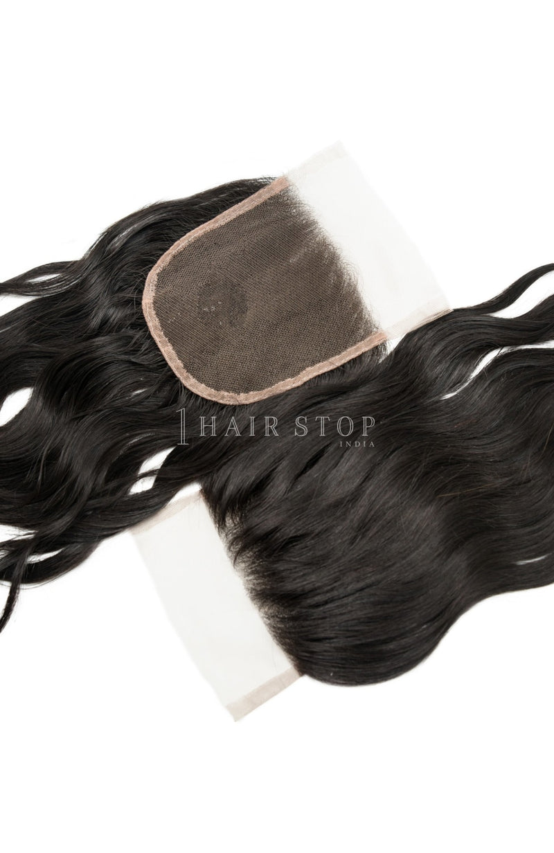 Lace Closure - Free Part Closure - Swiss Lace Closure