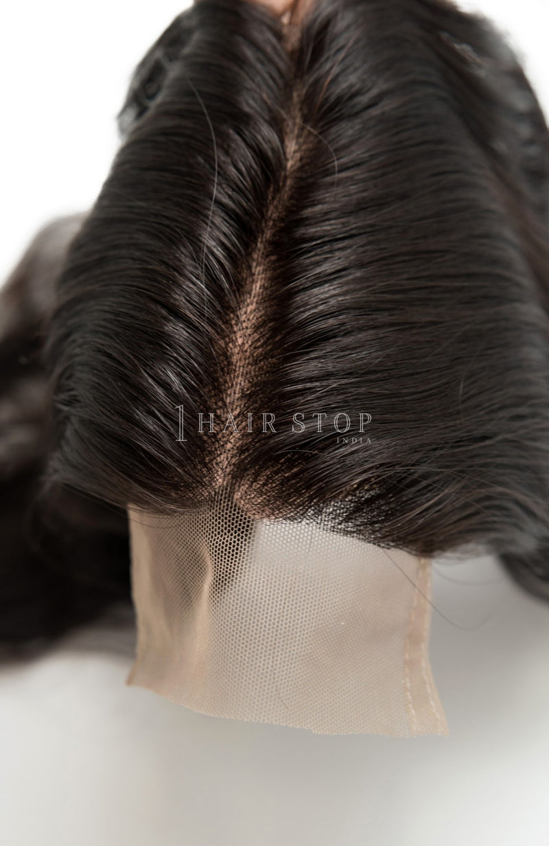 Natural Wavy Raw Lace Closure