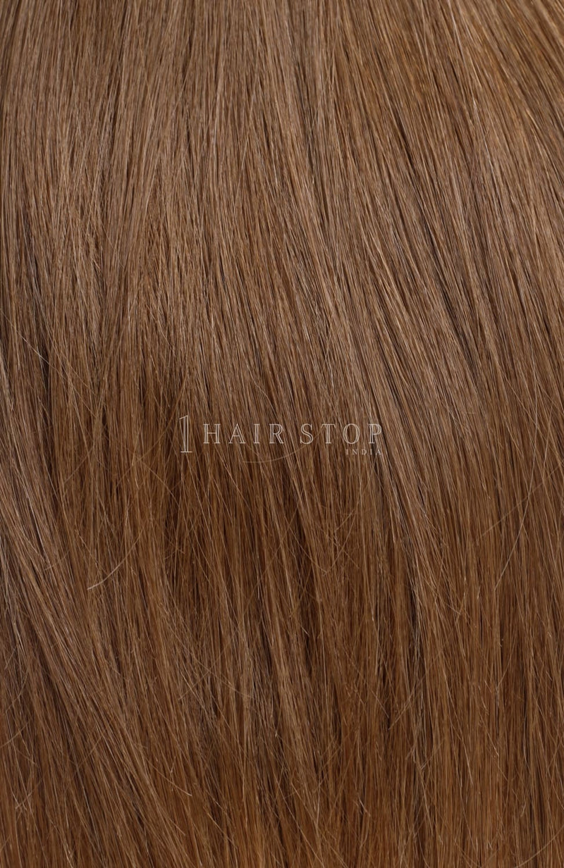 Natural Straight Brown #12 Bundles Texture