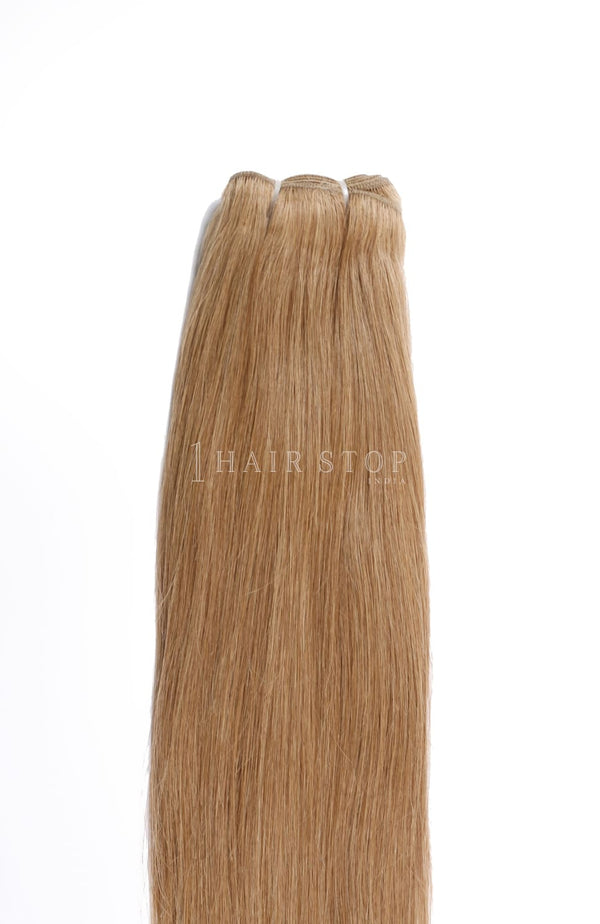 Natural Straight Brown #18 Bundles Texture