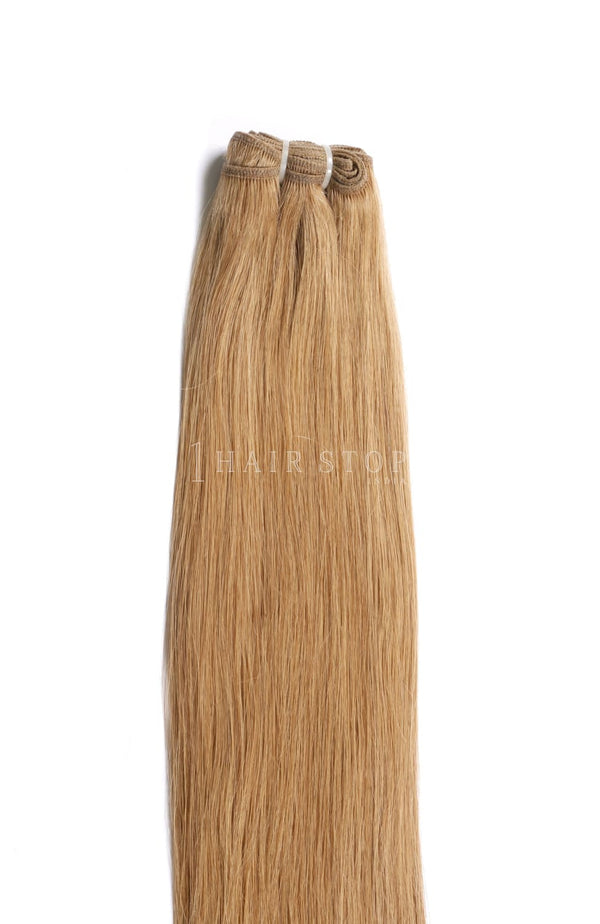Dark Blonde Hair Weaves - Hair Bundles - Indian Hair