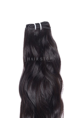 Wavy hair bundles