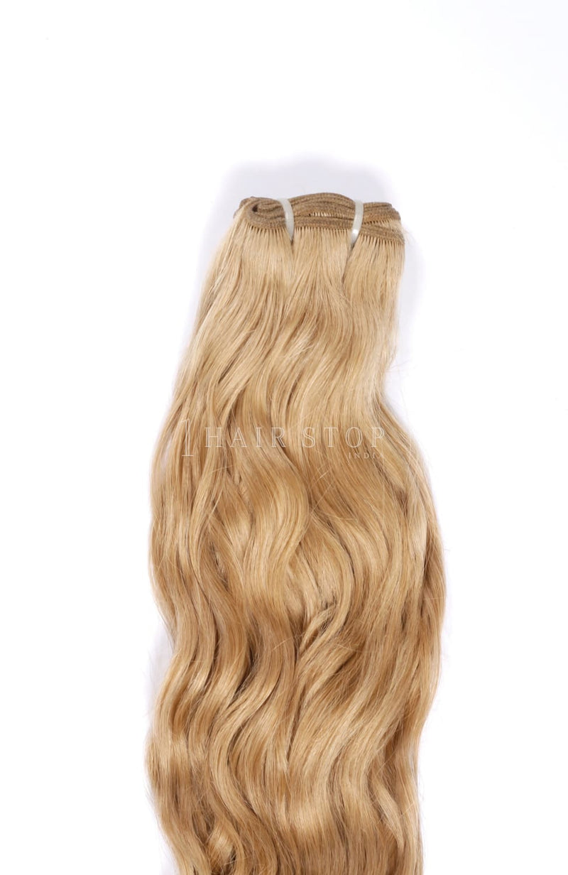 Dirty Blonde Hair Bundles - Blonde Machine Wefts