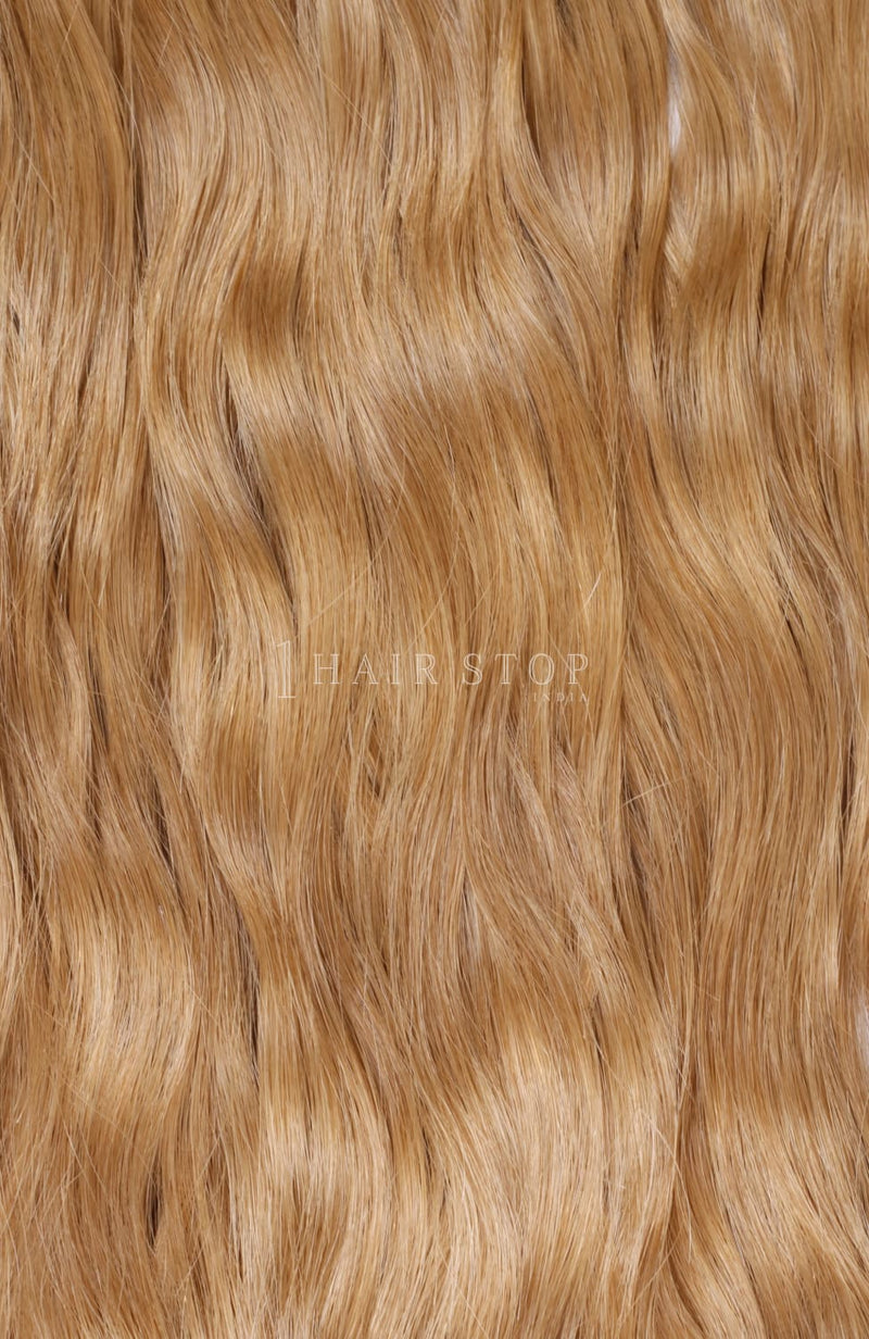 Invisi Clip-In Extensions Wavy Brown #18 Clip-In