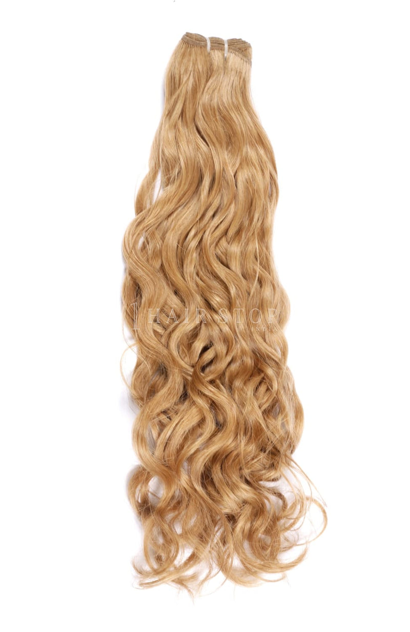Natural Wavy Blonde #30 Bundles Texture