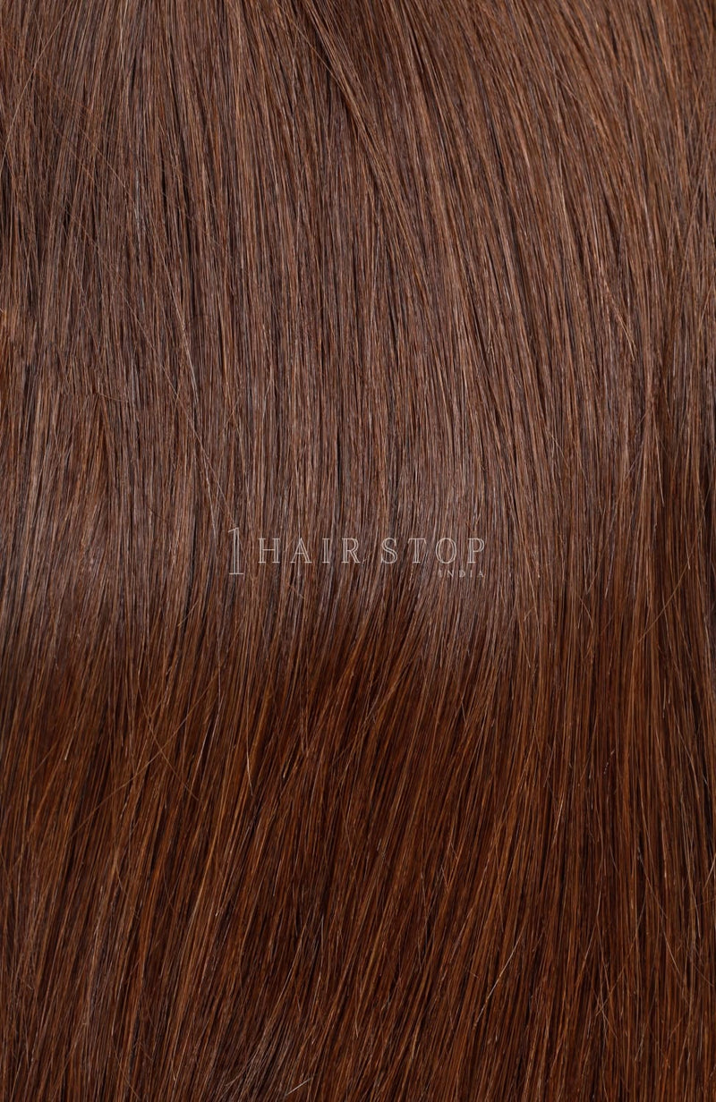 Clip-in Extensions in Brown