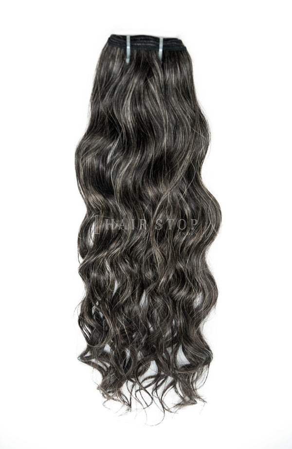 Mink Brazilian Salt & Pepper Hair 3 Bundle Deal