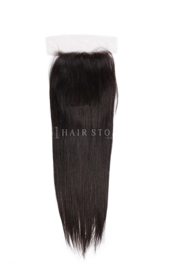 Silk closure straight with hair bundles