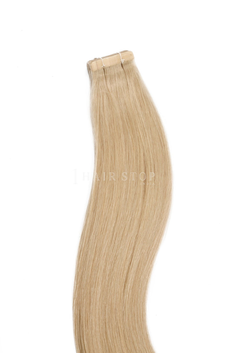 Blonde tape-In Extensions