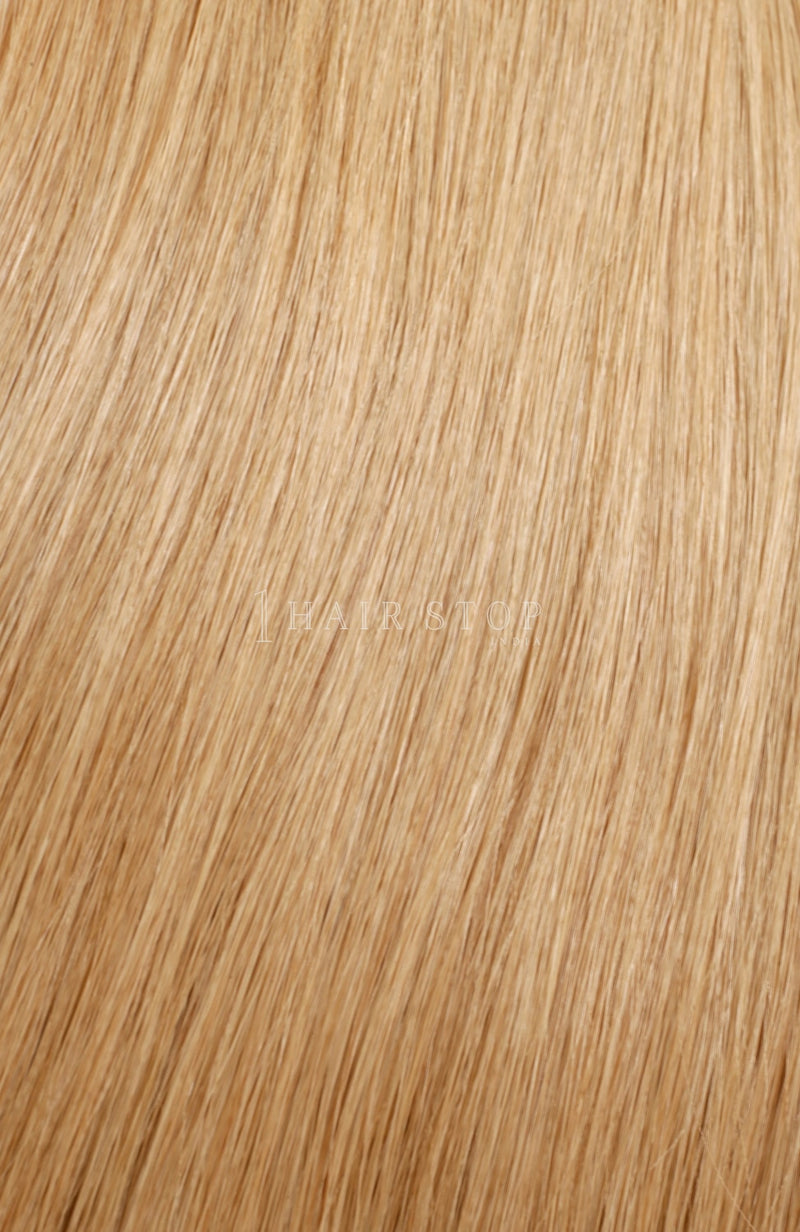 Dark Golden Human Hair Tape-in Extensions