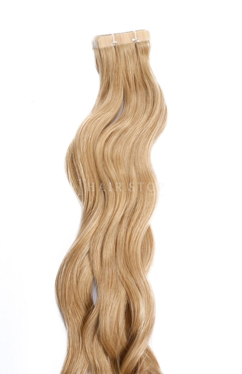 Golden Brown Tape-in Extensions