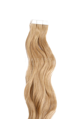 Dark Golden Tape Extensions
