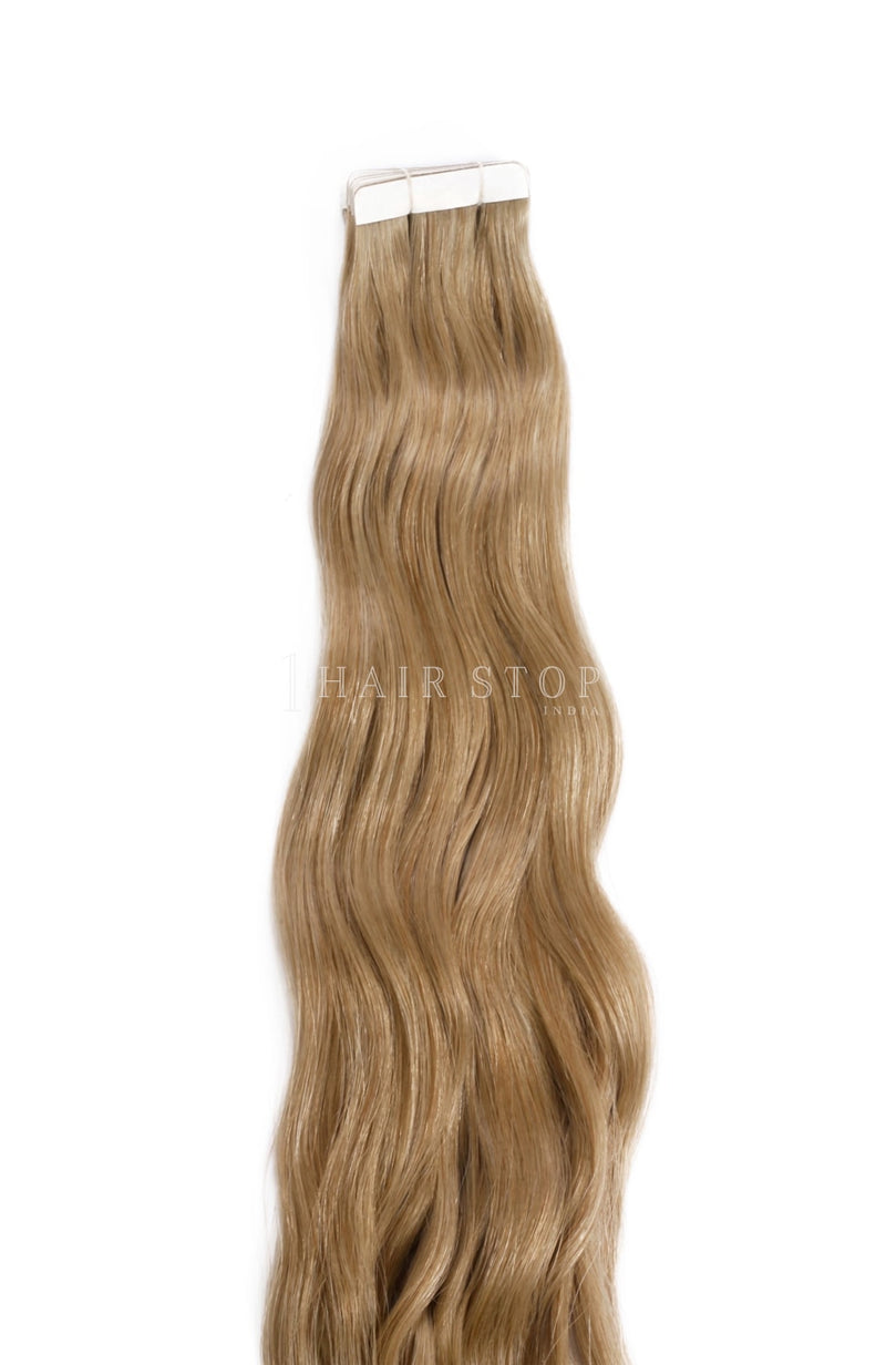 Dirty Blonde Tape in extensions