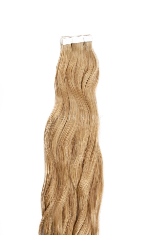 Sandy Blonde Tape in extensions