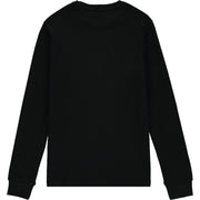 Boys Black Cotton Top