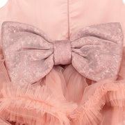 Vintage Pink Layered Tulle Dress