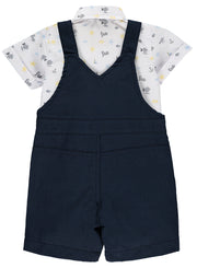 Baby Boy Cotton Dungaree Set