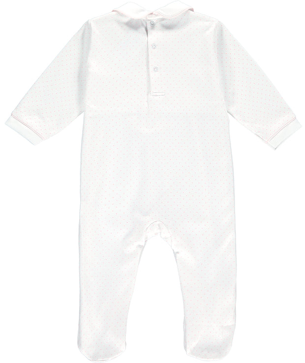 Jemima Puddle Duck Smocked Babygrow