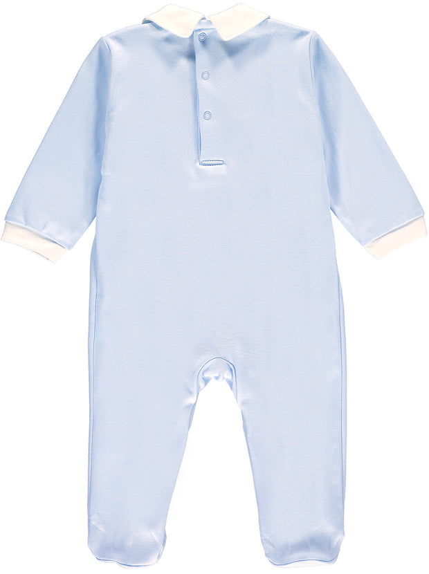 Boys Traditional Smocked Babygrow