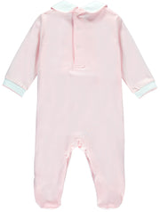 Girls traditional Smocked Babygrow