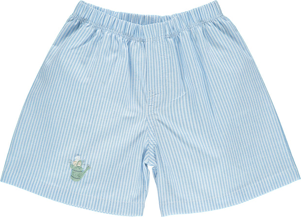 Peter Rabbit Striped Blue Shorts