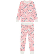 Girls Unicorn Pyjama Set