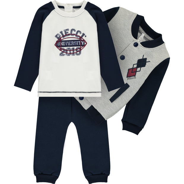 Baby Boy Tracksuit Set
